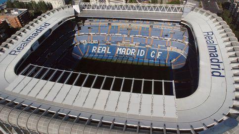 El jefe mundial de JP Morgan se reúne con Florentino con el Bernabéu de fondo
