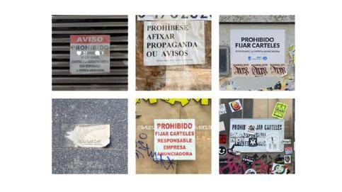 Prohibido fijar carteles: la renovación del mensaje que quiso frenar el arte
