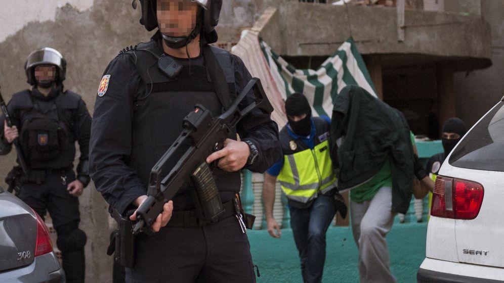 Foto: El presunto yihadista detenido en Melilla. (Efe)