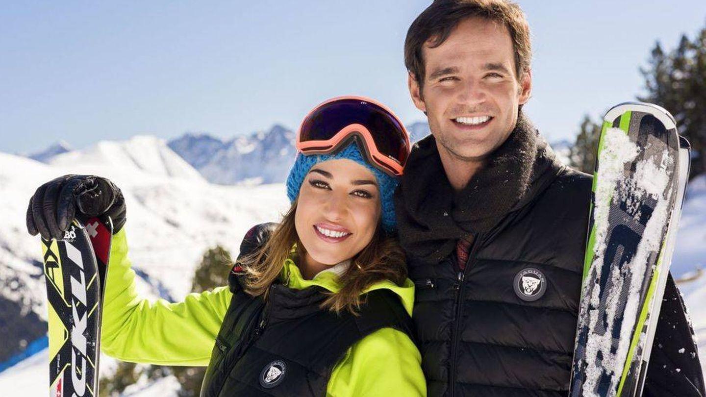 Ana Bono y su hermano José, en un evento de Jaguar.