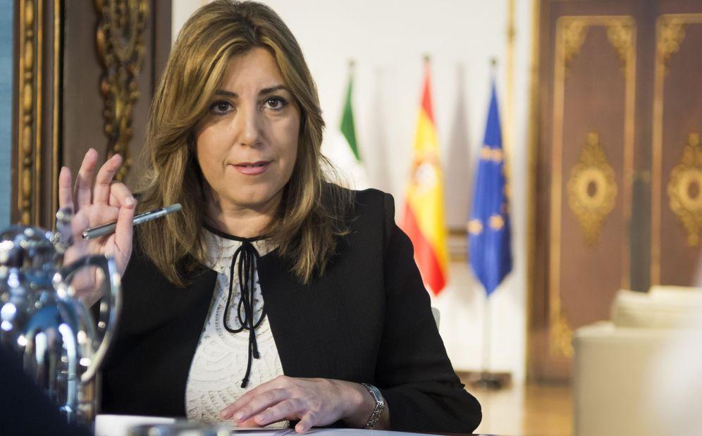 Foto: Susana Díaz exige disculpas públicas al cónsul en Washington. (EFE)