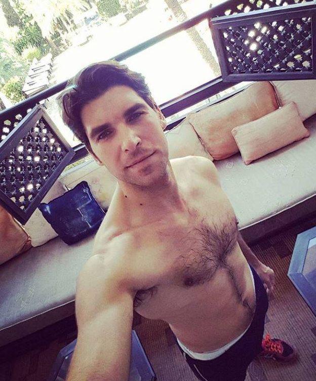 Foto: Cayetano Rivera en una imagen de su Instagram.
