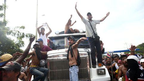 En directo | Las fuerzas de Maduro impiden que entre la ayuda humanitaria en Venezuela
