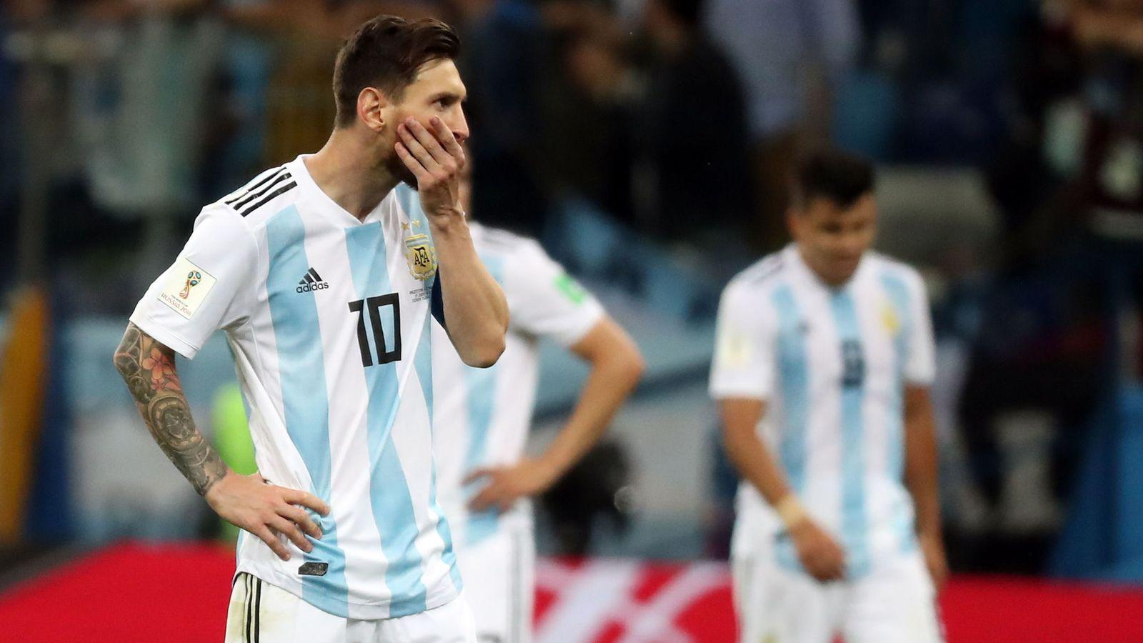 Foto: Leo Messi, en el último partido contra Argentina (Reuters)