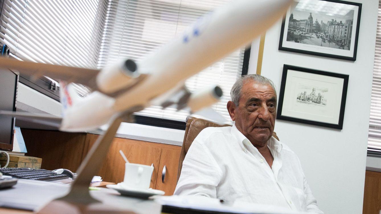 Foto: El presidente de Globalia, Juan José Hidalgo, durante una entrevista en 2013. (EFE)