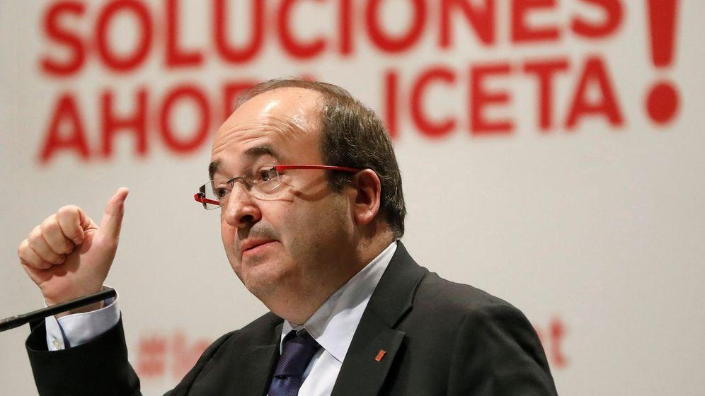 Foto: El candidato del PSC a la presidencia de la Generalitat, Miquel Iceta. (EFE)