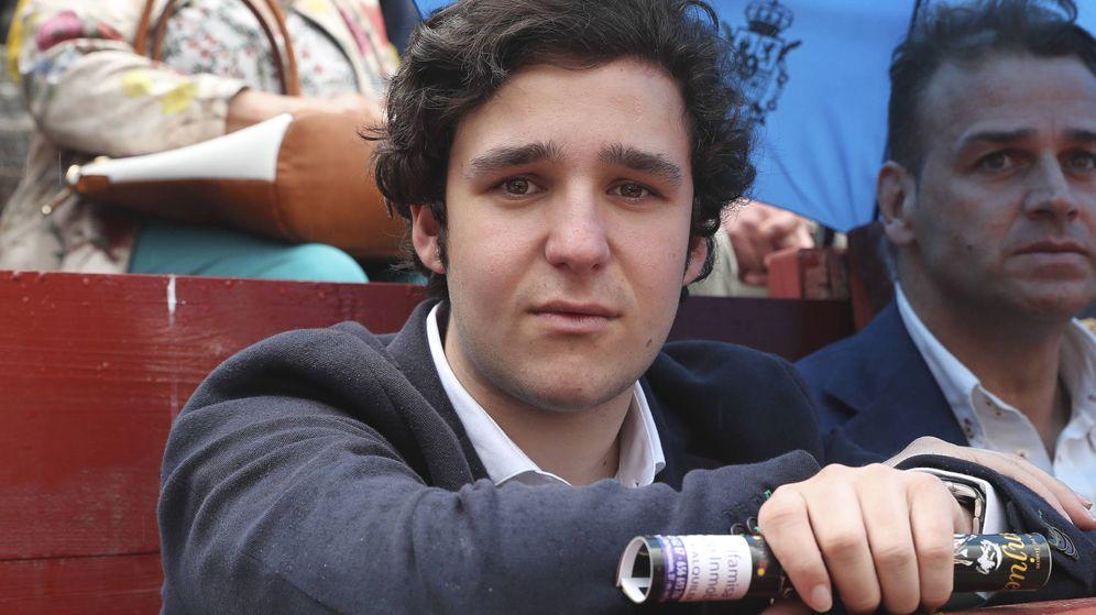 Foto:  Froilán, en la corrida de Aranjuez. (Gtres)