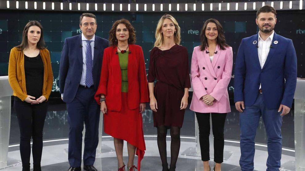 TVE arranca la campaña electoral con un debate a siete