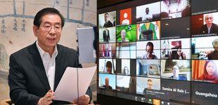 Post de El alcalde de Seúl que supo contener el virus: