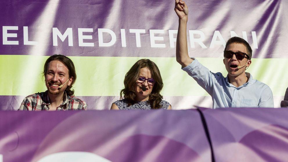 Compromís, Podemos y Errejón: el  imposible  trío por Valencia que quiere Mónica Oltra