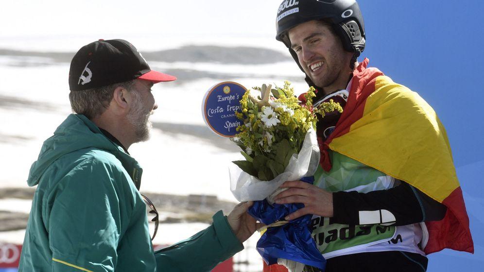 Foto: Lucas Eguibar, el día que fue subcampeón del mundo. (EFE)