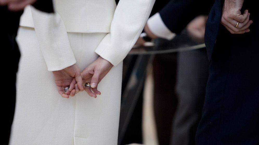 Foto: La manicura natural de la reina Letizia. (Getty)