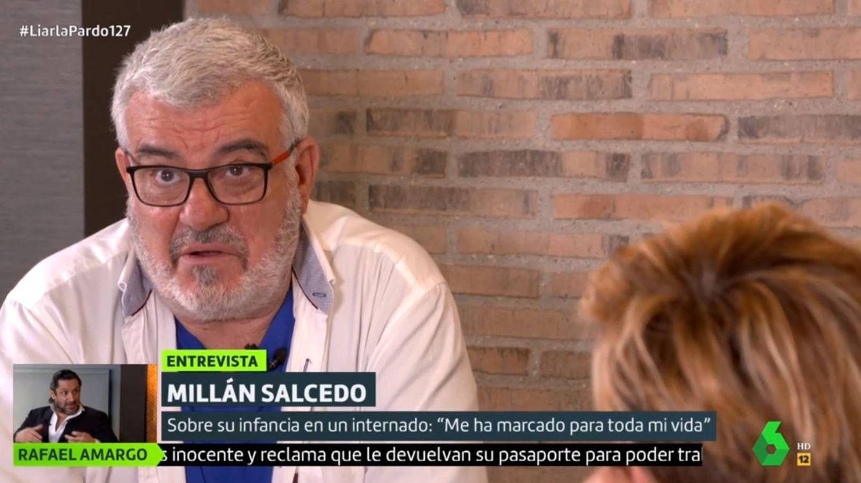 Millán Salcedo desvela a Cristina Pardo su 'pasión' en común con Jorge Javier Vázquez