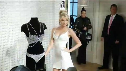 Presentan en Nueva York el 'Fantasy bra' de Victoria's Secret, con 2.100 diamantes
