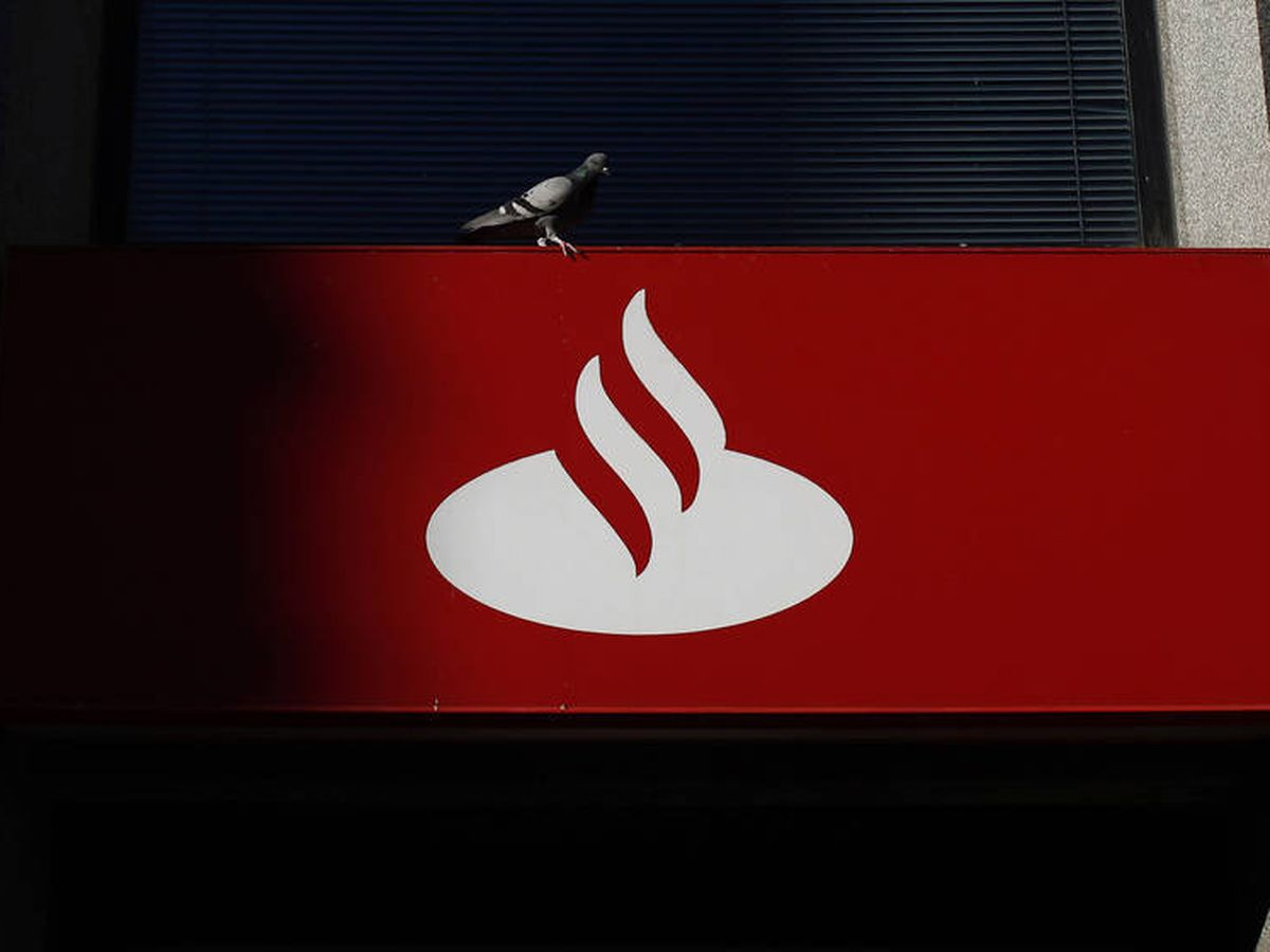 Foto: Logo del Banco Santander.