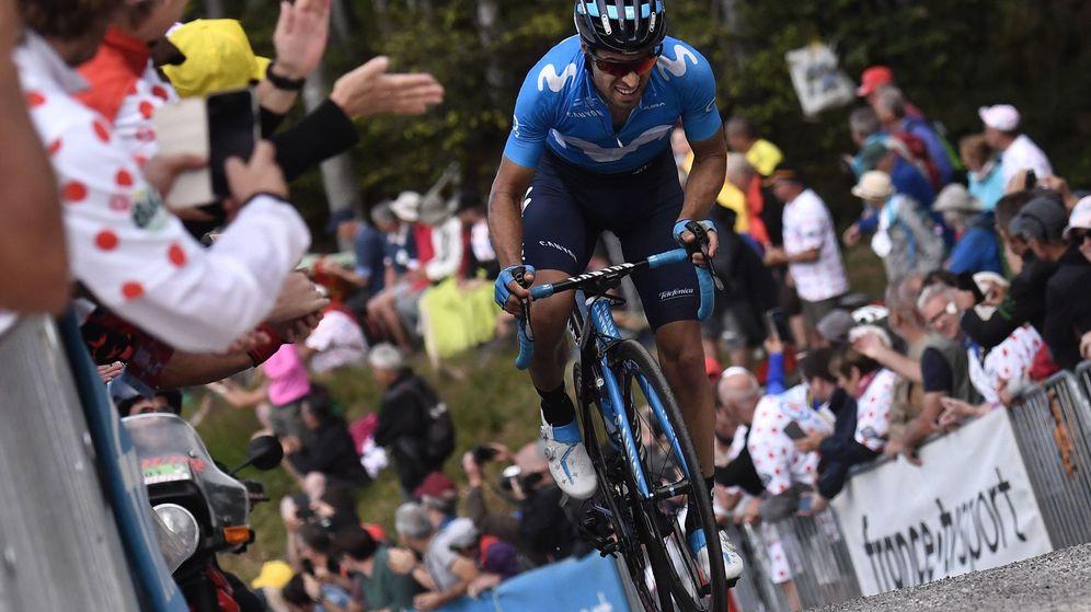 Foto: Mikel Landa, durante la sexta etapa del Tour de Francia. (EFE)