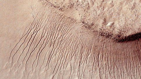 Encuentran por primera vez agua líquida en Marte: hay un lago enorme bajo la superficie