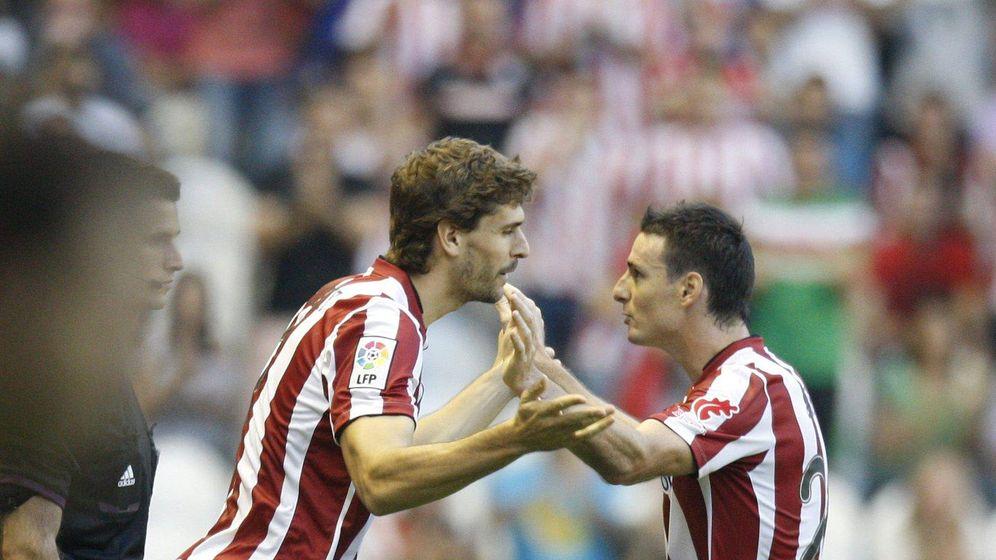 Foto: Aduriz y Llorente, en un partido del Athletic (EFE).