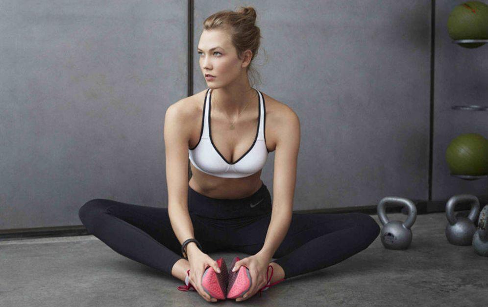 Foto: Karlie Kloss en una campaña de Nike.