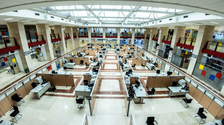 Oficinas de Hacienda. (EFE)