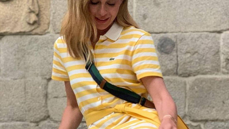 Camisero y de rayas: el vestido ganador que ya luce Marta Hazas