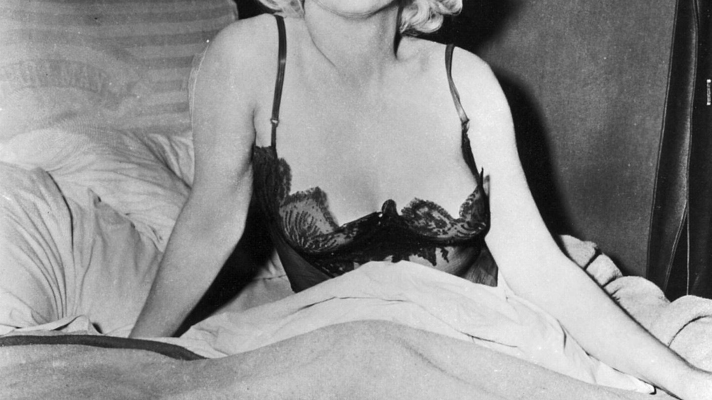 Marilyn Monroe, durante el rodaje 'Con faldas y a lo loco'. (Cordon Press)