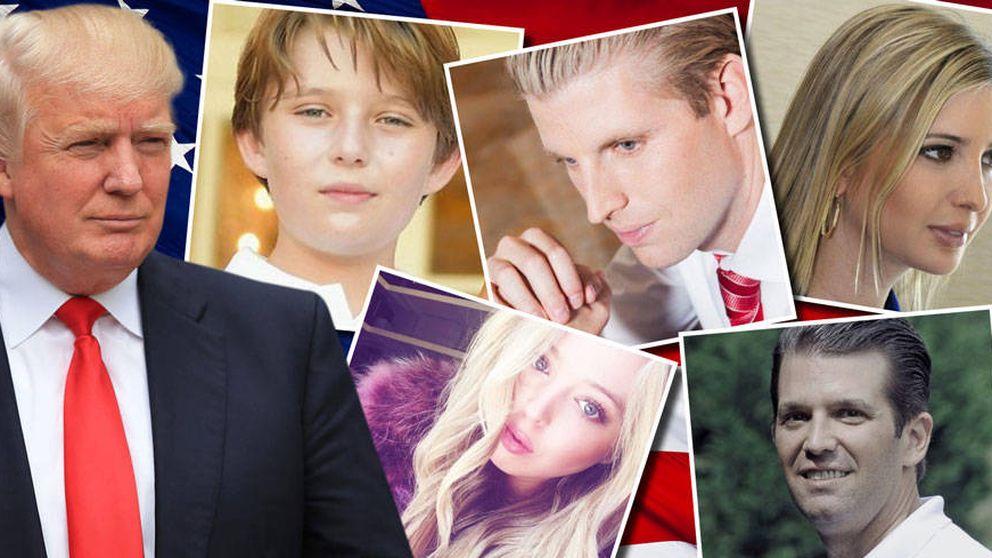 Financieros, cantantes y judíos conversos: así son los hijos de Trump