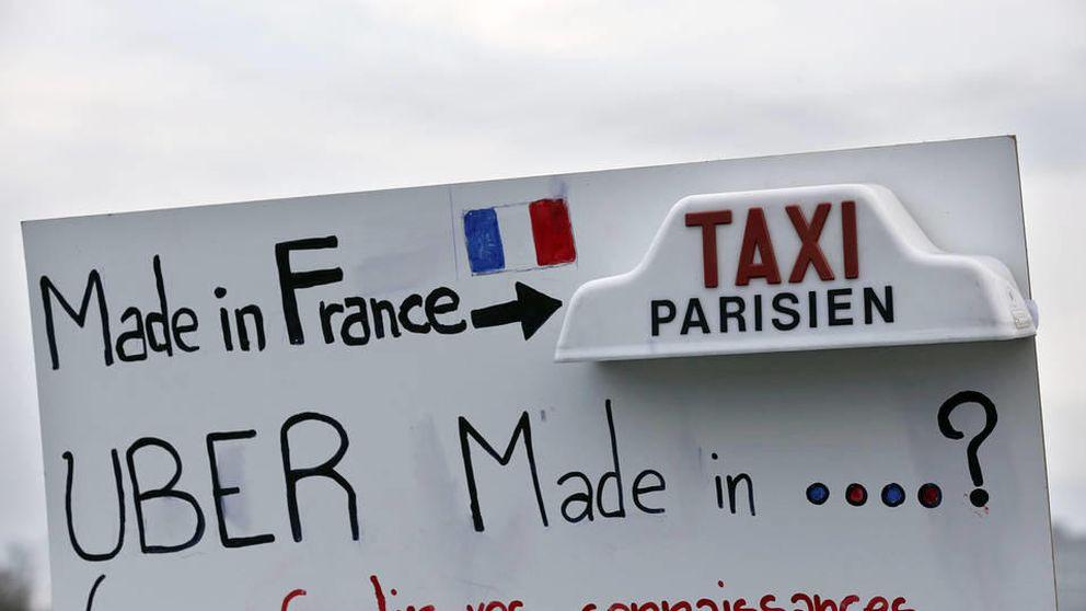 Detenidos en París los responsables de UberPop Francia