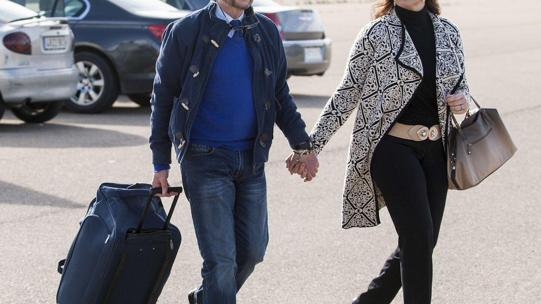 Foto: Ana María Aldón acompaña a José Ortega Cano a la prisión de Zuera, en Zaragoza (Gtres)