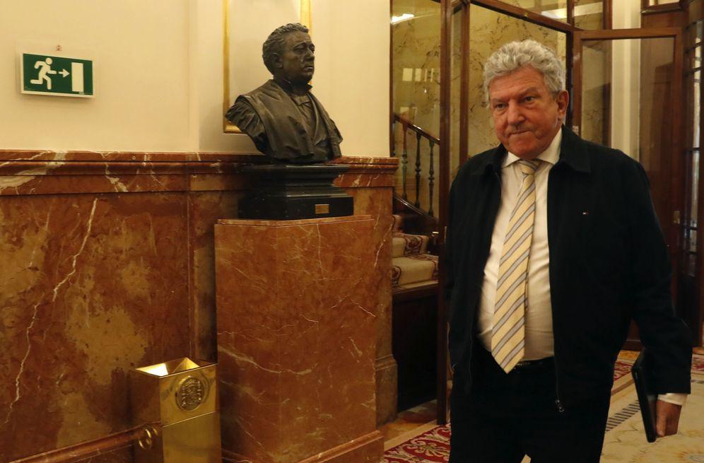 Foto: El diputado de Nueva Canarias, Pedro Quevedo, el pasado 28 de marzo en el Congreso. (EFE)