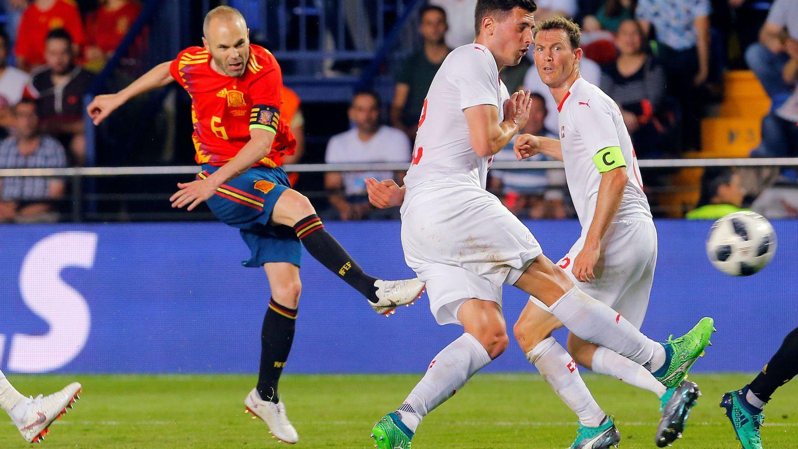Foto: Iniesta. (EFE)