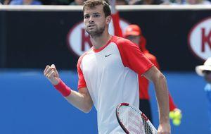 Dimitrov gana a Bautista y firma los primeros cuartos en un Grand Slam