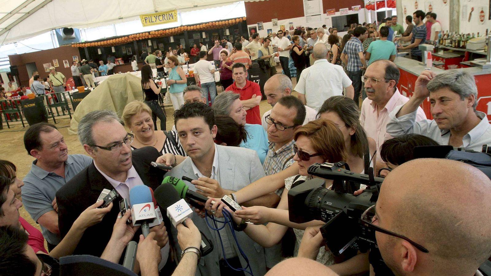 Foto: Juan Pablo Durán, nuevo presidente del Parlamento andaluz en una imagen de archivo (EFE)