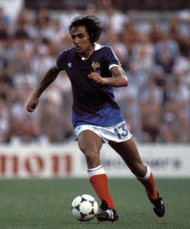 Foto: Jean-Francois Larios durante el Mundial 82, en Alicante. (Imago)