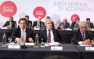 La banca alemana replica el derecho a decidir de la antigua Banca Cívica