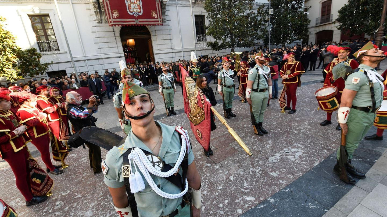 Celebración de la Toma de Granada el 2 de enero de 2019. (EFE)