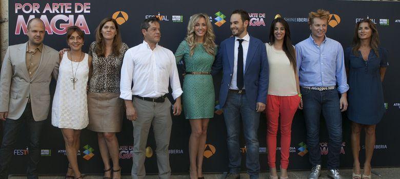 Foto: El equipo de 'Por arte de magia' (FesTVal)