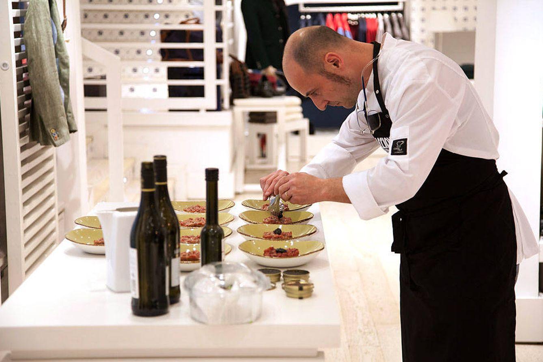 Foto: El chef con las manos en la masa en una edición pasada de las Soul Food Nights