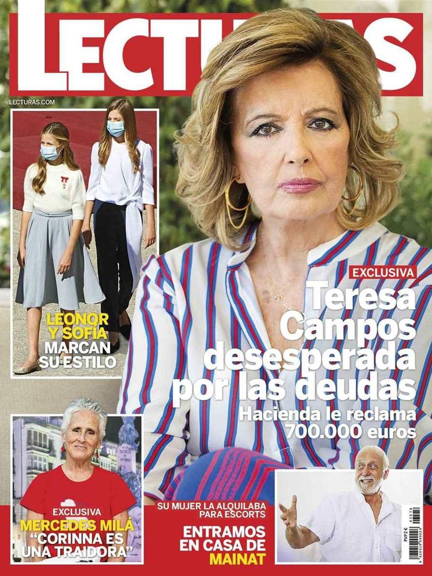 La portada de 'Lecturas'.