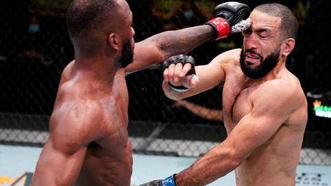 UFC Vegas 21: el piquete de ojos de Edwards a Muhammad que pausa su racha victoriosa