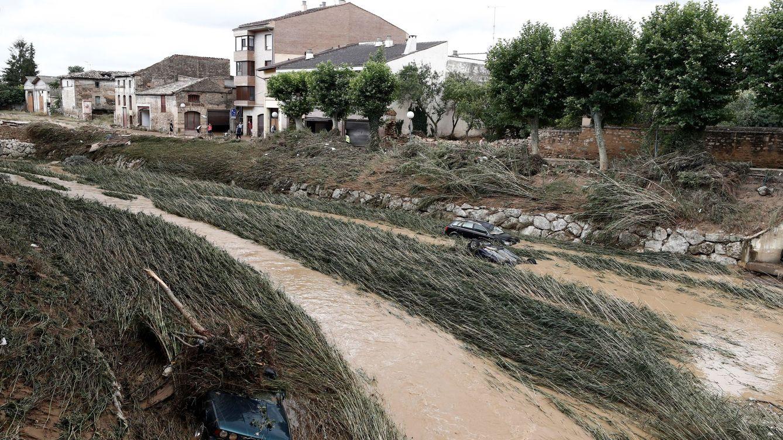 159 litros por metro cuadrado: así se formó la 'tormenta explosiva' que arrasó Navarra