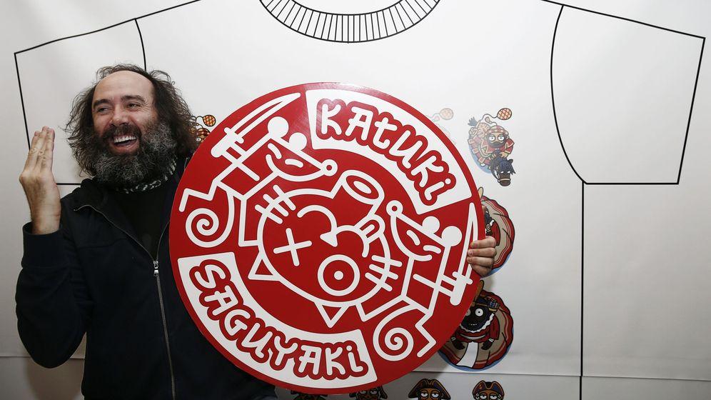 Foto: Mikel Urmeneta, exdirector artístico de la empresa Kukuxumusu, de la que, según su versión, fue expulsado. (EFE)