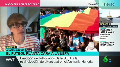Pelos como escarpias: Anabel Alonso, tajante frente al movimento de Ayuso