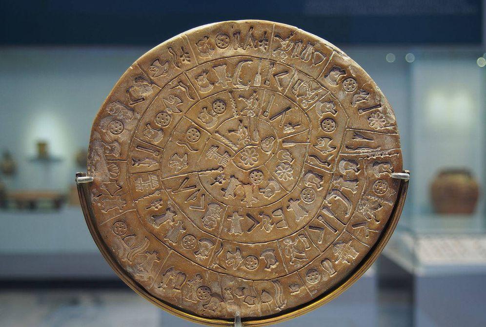 Foto: ¿Misterio o engaño? El Disco de Festo, la desconocida 'piedra de Rosetta' minoica. (CC/Wikimedia Commons)