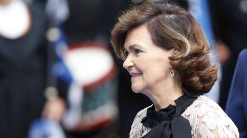 Carmen Calvo, la vicepresidenta de los pendientes llamativos: 25 pares