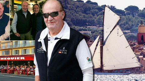 La ruta secreta de Don Juan Carlos por Saint Tropez el pasado fin de semana