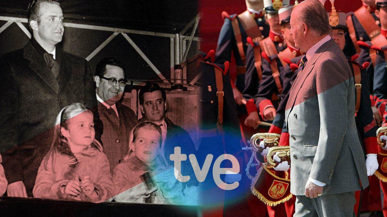 Foto: El Rey Don Juan Carlos, antes y ahora, en un fotomontaje realizado en 'Vanitatis'