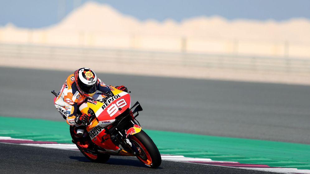Foto: Jorge Lorenzo, en su debut con Honda. (Reuters)