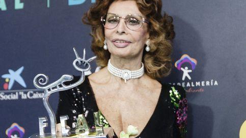 Sofia Loren recibe el premio 'Almería, tierra de cine'