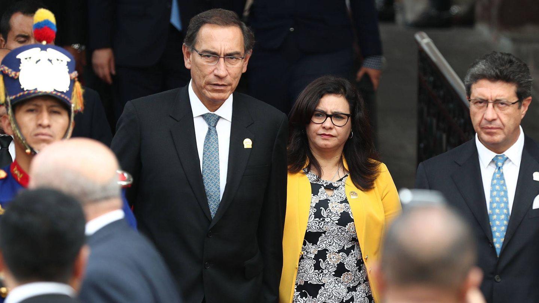 El matrimonio presidencial durante un viaje a Ecuador. (EFE)